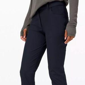 NWOT Lululemon City Sleek Low-Rise Pants 34